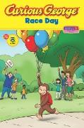 Cover-Bild zu Curious George Race Day (CGTV Read-aloud) (eBook) von Rey, H. A.