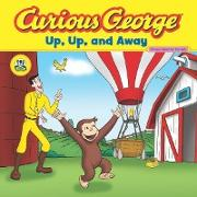Cover-Bild zu Curious George Up, Up, and Away (CGTV Read-aloud) (eBook) von Rey, H. A.