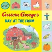 Cover-Bild zu Curious George's Day at the Farm (tabbed lift-the-flap) (eBook) von Rey, H. A.