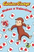 Cover-Bild zu Curious George Makes a Valentine (eBook) von Rey, H. A.