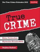 Cover-Bild zu Der True Crime Kalender 2022 von Harbort, Stephan