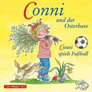 Cover-Bild zu Conni und der Osterhase / Conni spielt Fussball