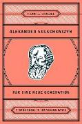 Cover-Bild zu Alexander Solschenizyn für eine neue Generation (eBook) von Strebel, Hanniel