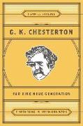 Cover-Bild zu Chesterton für eine neue Generation (eBook) von Strebel, Hanniel