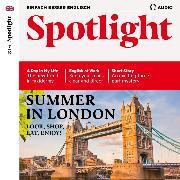 Cover-Bild zu Englisch lernen Audio - Summer in London (Audio Download) von Sharp, Inez (Spr.)