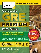 Cover-Bild zu Cracking the GRE Premium Edition with 6 Practice Tests, 2020 von The Princeton Review