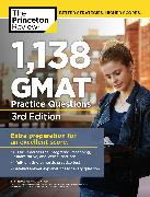 Cover-Bild zu 1,138 GMAT Practice Questions, 3rd Edition von The Princeton Review