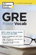 Cover-Bild zu GRE Power Vocab von The Princeton Review
