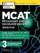 Cover-Bild zu MCAT Psychology and Sociology Review, 3rd Edition von The Princeton Review