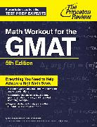 Cover-Bild zu Math Workout for the GMAT, 5th Edition von The Princeton Review