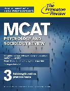 Cover-Bild zu MCAT Psychology and Sociology Review (eBook) von The Princeton Review