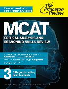 Cover-Bild zu MCAT Critical Analysis and Reasoning Skills Review (eBook) von The Princeton Review