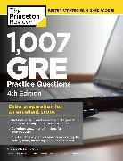 Cover-Bild zu 1,007 GRE Practice Questions, 4th Edition von Princeton Review