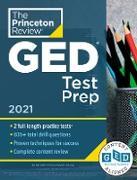 Cover-Bild zu Princeton Review GED Test Prep, 2021 (eBook) von The Princeton Review