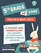 Cover-Bild zu 5th Grade at Home (eBook) von The Princeton Review
