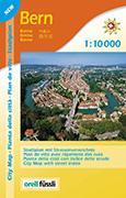 Cover-Bild zu Bern Zentrum. Stadtplan / Plan de ville. 1:10'000
