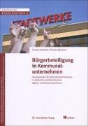 Cover-Bild zu Bürgerbeteiligung in Kommunalunternehmen von Herzberg, Carsten