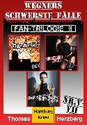 Cover-Bild zu Fan-Trilogie II: Wegners schwerste Fälle (Teil 5-7) (eBook) von Herzberg, Thomas