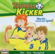 Cover-Bild zu Die Teufelskicker 01. Moritz macht das Spiel! CD