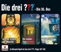 Cover-Bild zu Die drei ??? Box 36 (Folgen 107,108,109) (drei Fragezeichen)