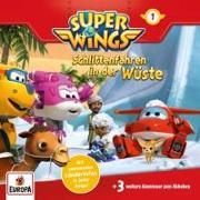 Cover-Bild zu Super Wings 01. Schlittenfahren in der Wüste