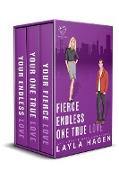 Cover-Bild zu Fierce, Endless, True (The Bennett Series Collection, #3) (eBook) von Hagen, Layla