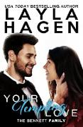 Cover-Bild zu Your Tempting Love (The Bennett Family, #5) (eBook) von Hagen, Layla