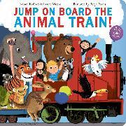 Cover-Bild zu Jump On Board the Animal Train von Kefford, Naomi