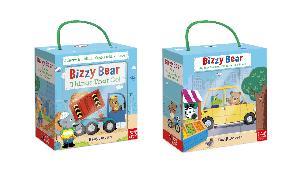 Cover-Bild zu Bizzy Bear Book and Blocks set von DAVIES, BENJI (Illustr.)