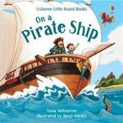 Cover-Bild zu On a Pirate Ship von Milbourne, Anna