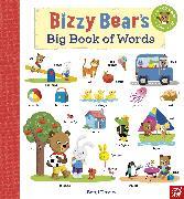 Cover-Bild zu Bizzy Bear's Big Book of Words von Davies, Benji (Illustr.)