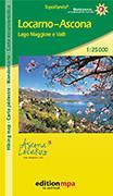 Cover-Bild zu Locarno - Ascona. Carta escursionistica / Wanderkarte. 1:25'000