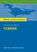 Cover-Bild zu Terror. Königs Erläuterungen (eBook) von Möbius, Thomas