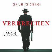 Cover-Bild zu Verbrechen (Audio Download) von Schirach, Ferdinand von