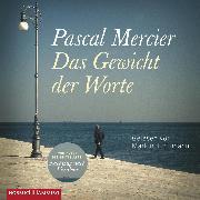 Cover-Bild zu Das Gewicht der Worte (Audio Download) von Mercier, Pascal