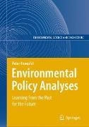 Cover-Bild zu Environmental Policy Analyses von Knoepfel, Peter