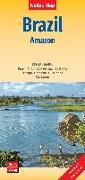 Cover-Bild zu Nelles Map Landkarte Brazil: Amazon. 1:2'500'000 von Nelles Verlag (Hrsg.)