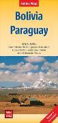 Cover-Bild zu Nelles Map Landkarte Bolivia - Paraguay. 1:2'500'000 von Nelles Verlag (Hrsg.)