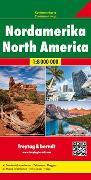 Cover-Bild zu Nordamerika, Kontinentkarte 1:8 Mio. 1:8'000'000 von Freytag-Berndt und Artaria KG (Hrsg.)