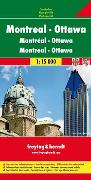 Cover-Bild zu Ottawa - Montreal. 1:15'000 von Freytag-Berndt und Artaria KG (Hrsg.)