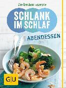 Cover-Bild zu Schlank im Schlaf Abendessen (eBook) von Pape, Detlef