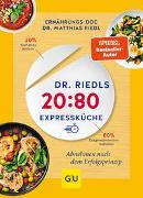 Cover-Bild zu Dr. Riedls 20:80 Expressküche von Riedl, Matthias