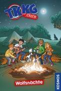 Cover-Bild zu TKKG Junior, 13, Wolfsnächte (eBook) von Vogel, Kirsten
