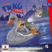 Cover-Bild zu TKKG Junior 10. Nachts im Gruselpark CD von Vogel, Kirsten