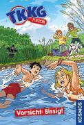 Cover-Bild zu TKKG Junior, 2, Vorsicht: Bissig! von Tannenberg, Benjamin