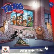 Cover-Bild zu TKKG Junior 017/Oskar in der Falle