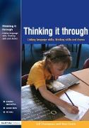 Cover-Bild zu Thinking it Through (eBook) von Thompson, Gill