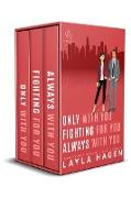 Cover-Bild zu Only With You, Fighting For You, Always With You (The Bennett Series Collection, #5) (eBook) von Hagen, Layla