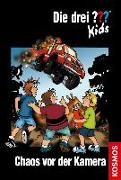 Cover-Bild zu Die drei ??? Kids, 4, Chaos vor der Kamera von Blanck, Ulf