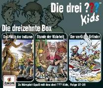 Cover-Bild zu Die drei ??? Kids 3er Box 13. Folge 37-39